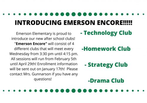 INTRODUCING EMERSON ENCORE