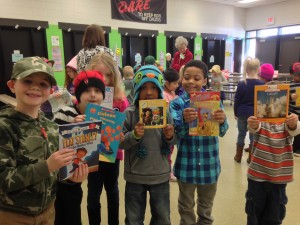 Congrats, Kindergartners, for catching captivating books!