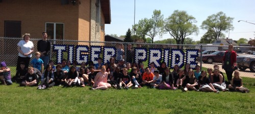 Tiger Pride w-students