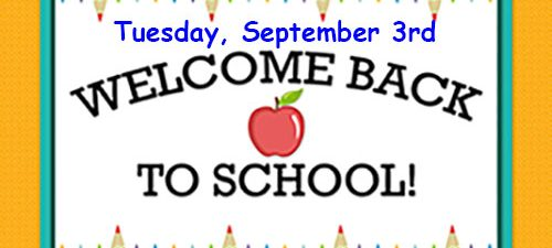 New Welcome Back to School-2019