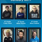 Students of the Month Jan 2017