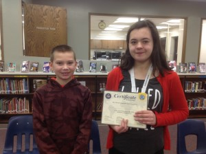 Longfellow/LDI 2016 Geography Bee Winners, Parker Blumentritt, 1st Place and Sam Fergot, 2nd Place