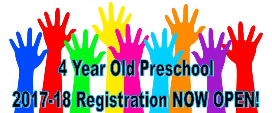 Preschool Reg Open